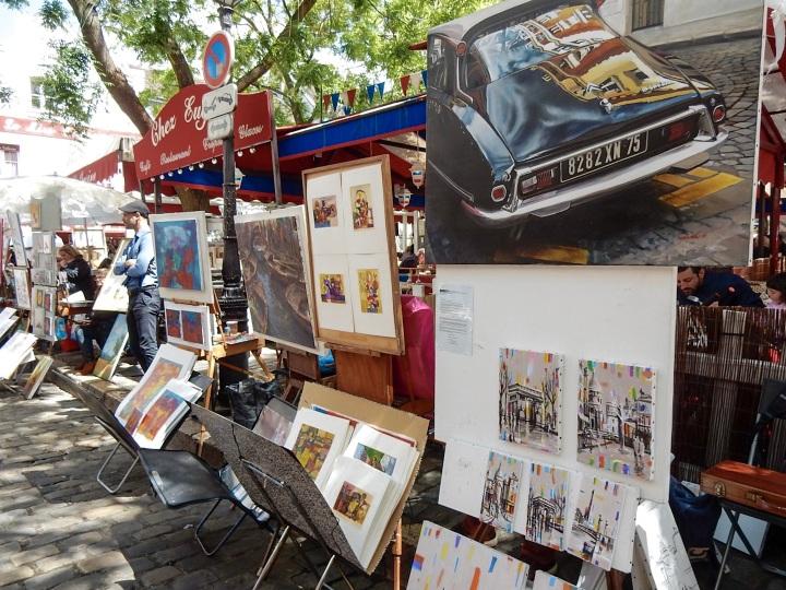 Paris-Montmartre-Market