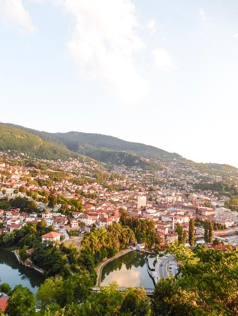 Yellow-Bastion-Sarajevo-View