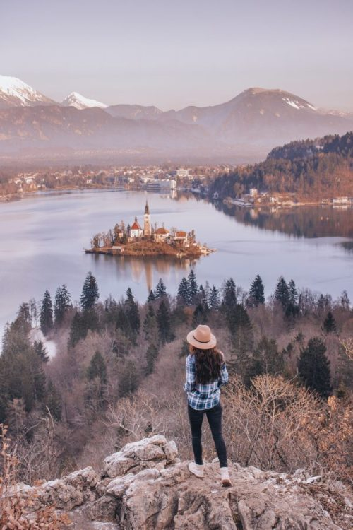 Lake-Bled-Hill-View