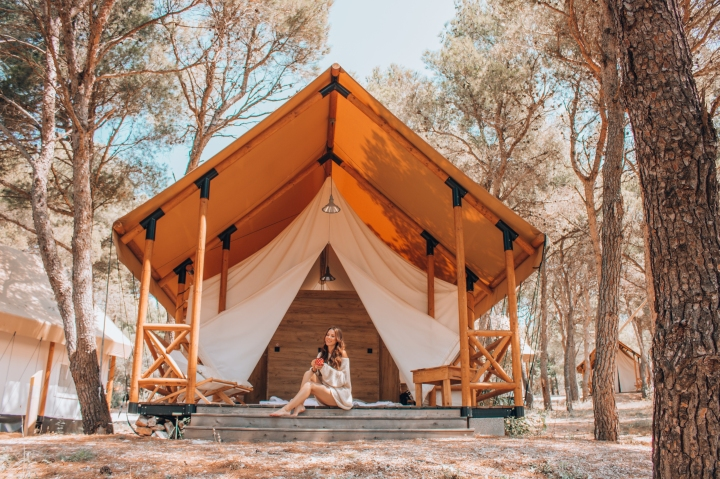 Priceless Glamping Experience with Mastercard, Obonjan- Croatia