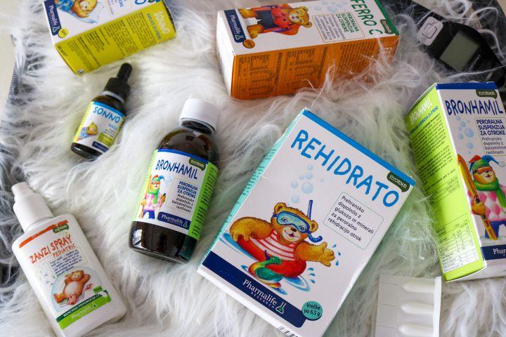 Potovalna lekarna za dojenčka – katera zdravila imamo zmeraj nazalogi